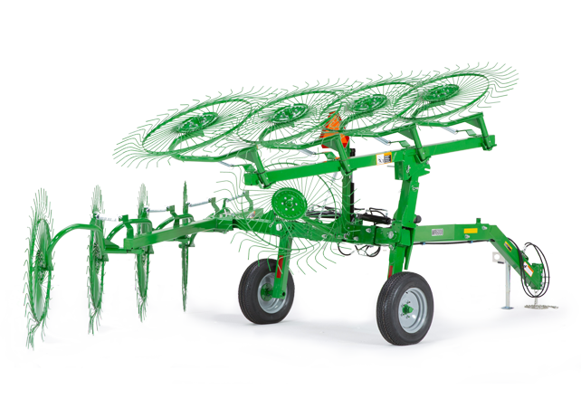WR60 Series High-Capacity Carted Wheel Rakes
