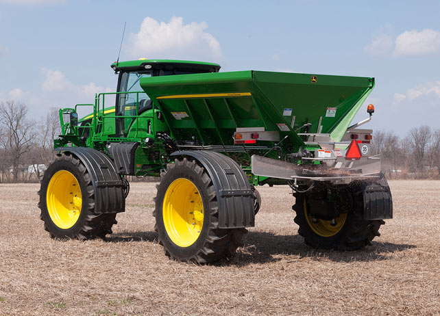 DN456 New Leader Dry Spinner Spreaders