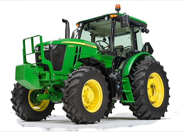 6105E Utility Tractor