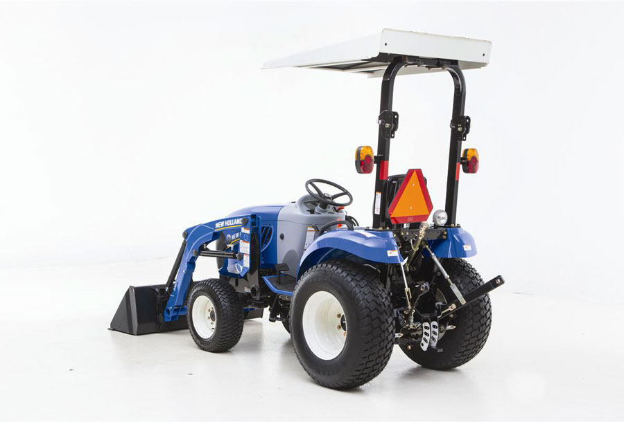 blueline background garden tractors holland home new