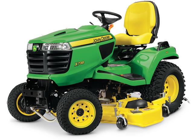 X738 Signature Series Tractor
