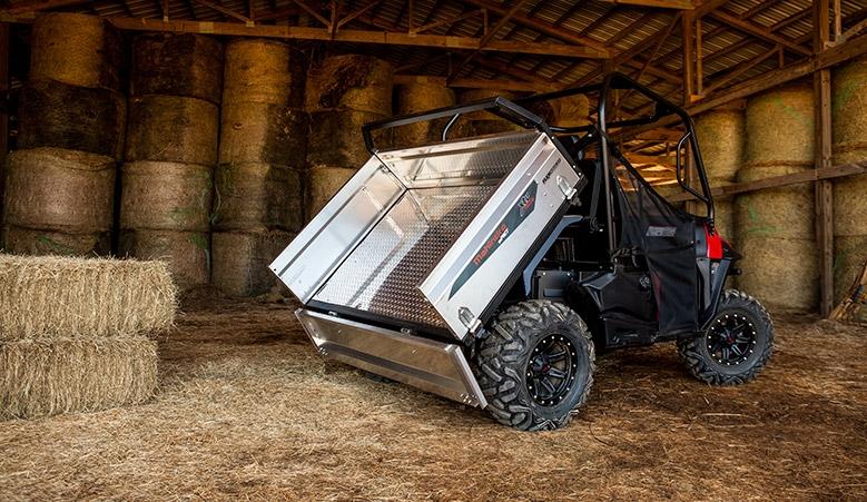 mPact XTV 1000 S with Flexhauler Cargo Box