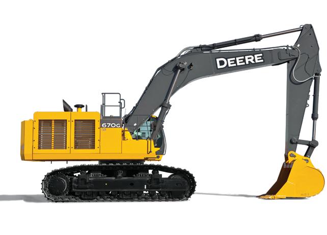 670G LC Excavator