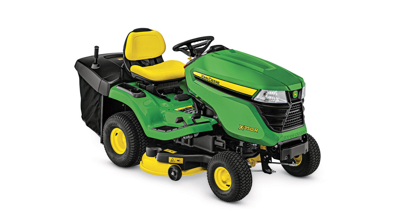 X350R Lawn Tractor with 42-inch Rear-Discharge Deck