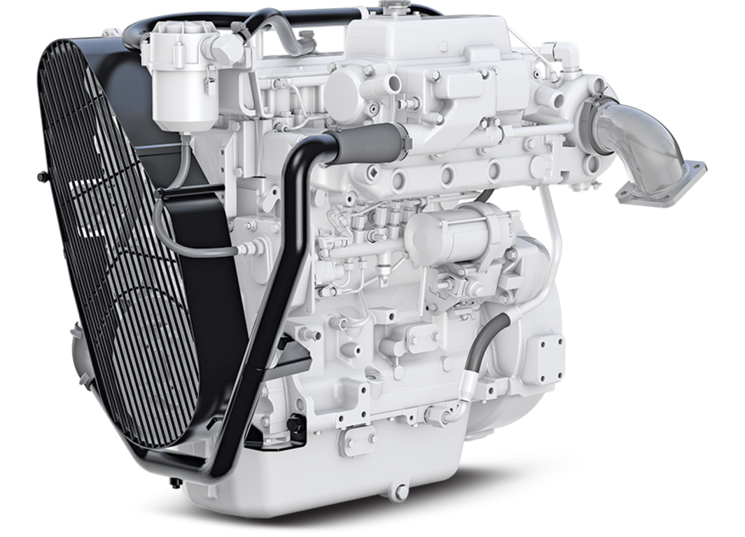 4045AFM85 Marine Propulsion Engine