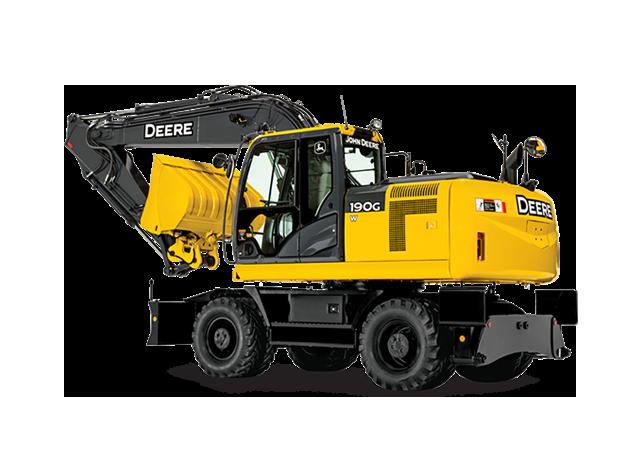 190G W Wheeled Excavator