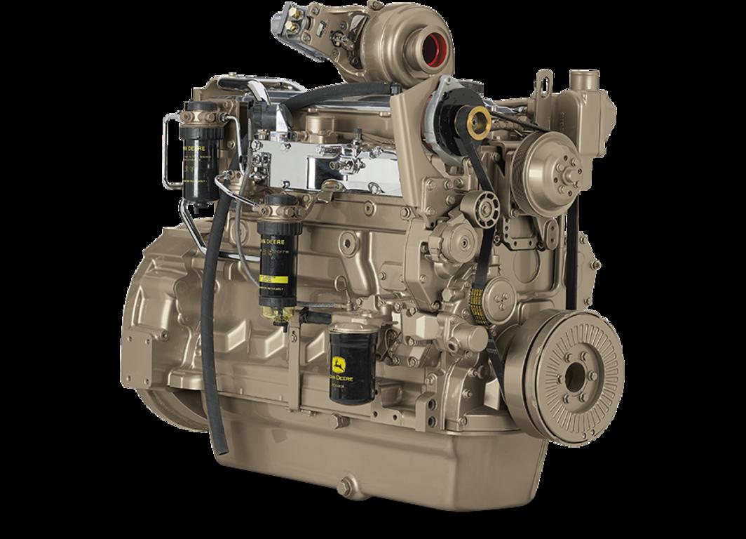 6090HFG86 9.0L Generator Drive Engine