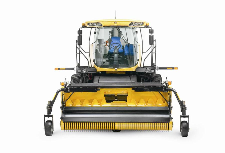 380 FP Grass Pickup header