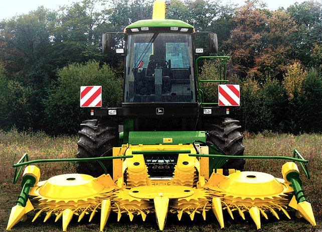 676 Rotary Harvesting Unit