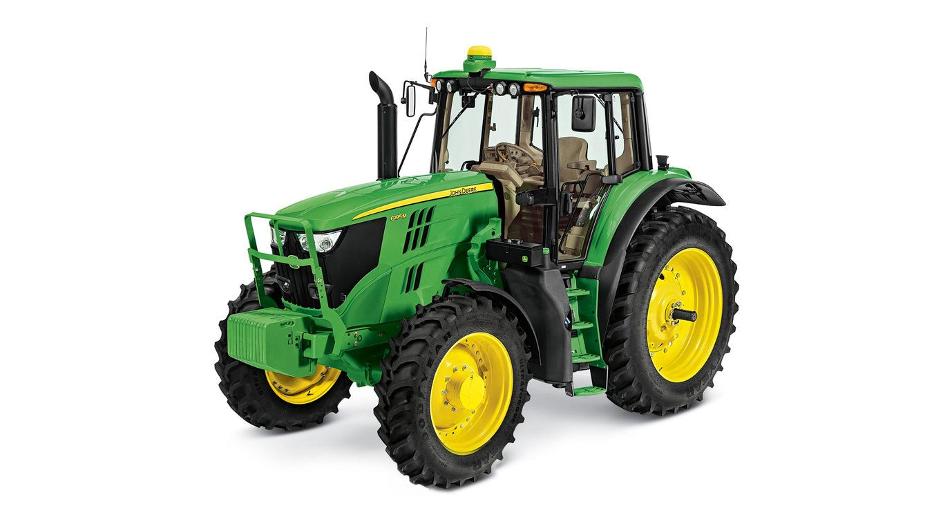 6195M Tractor