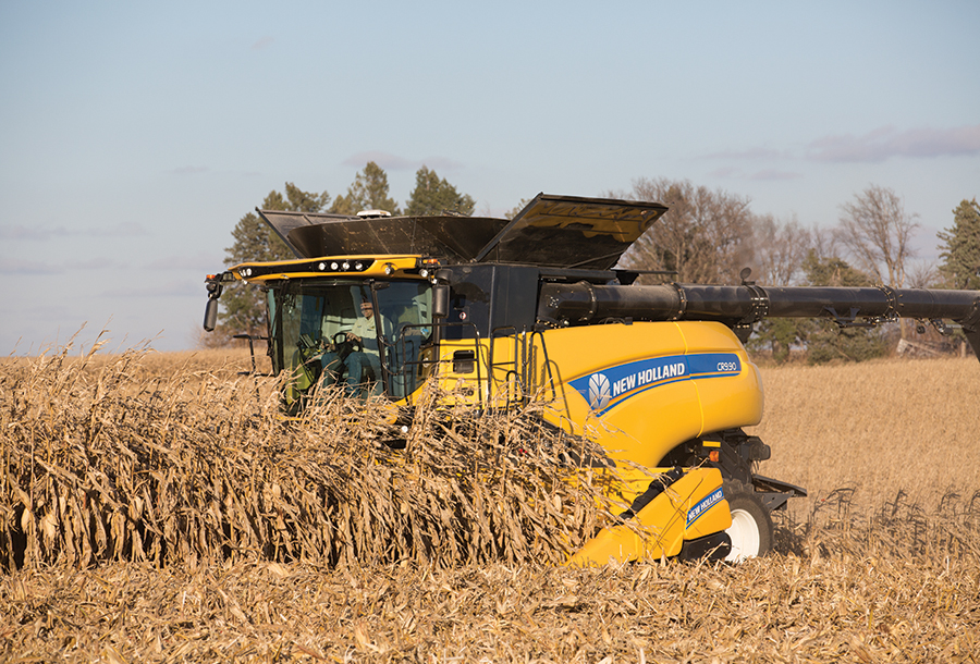980CF Folding Corn Header - 12 rows