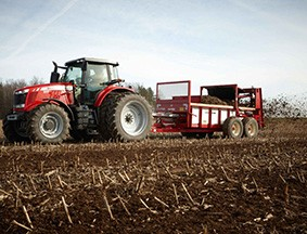 3700 series manure spreaders