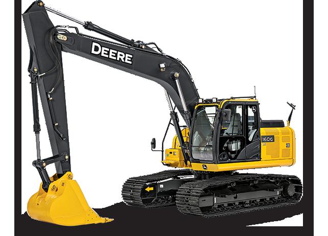 160G LC Excavator