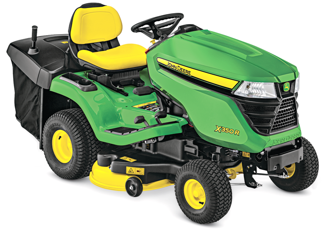 X350R Tractor with 42-inch Rear-Discharge Deck