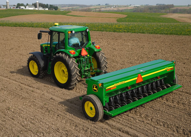 BD11 Series End-Wheel Grain Drills