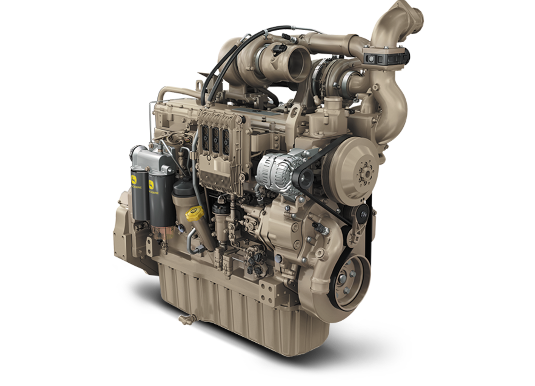 6090HFG95 9.0L Generator Drive Engine