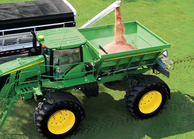DN485 New Leader Dry Spinner Spreaders