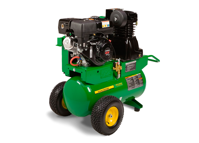 AC2-20GHS Stationary, Gasoline, Two Stage Air Compressor