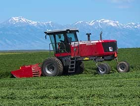 wr9800 series windrowers