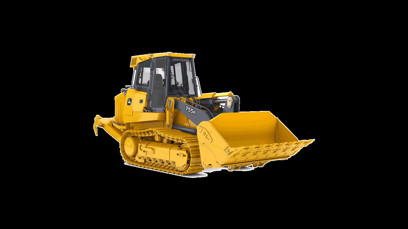 755K Crawler Loader