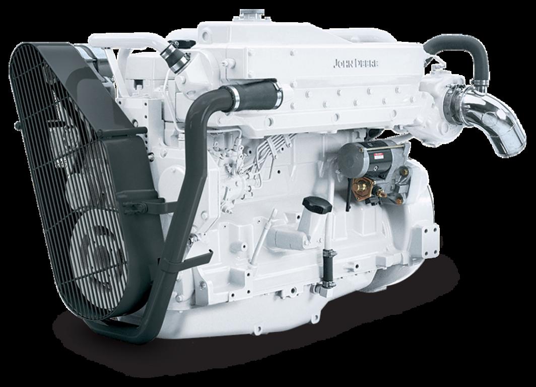 6068TFM50 Marine Generator Drive Engine