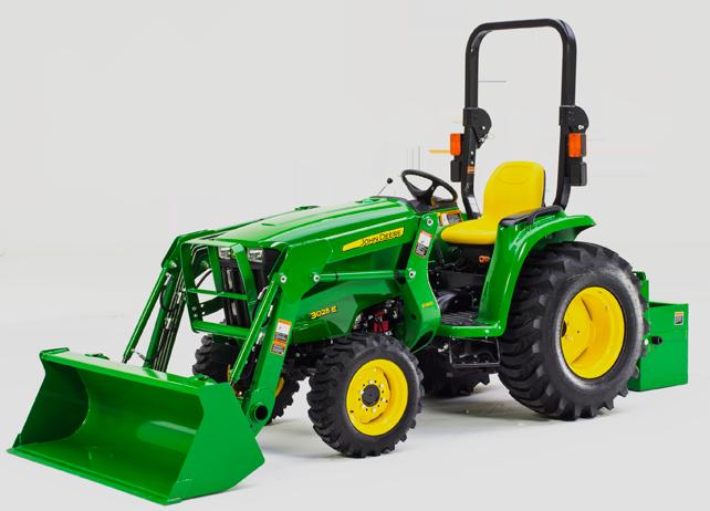 3025E Compact Utility Tractor