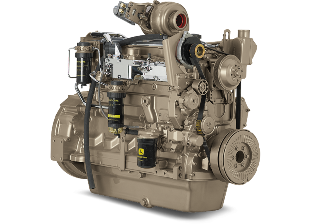 6068HFG85 6.8L Generator Drive Engine