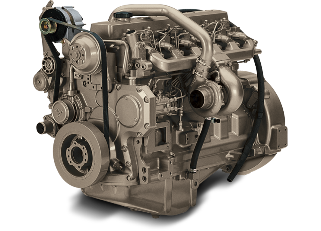 6068TF250 6.8L Generator Drive Engine