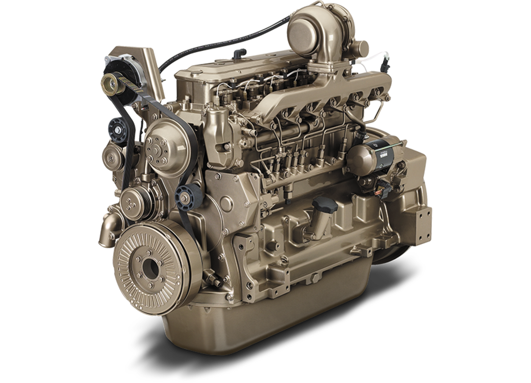 6068TF275 6.8L Industrial Diesel Engine