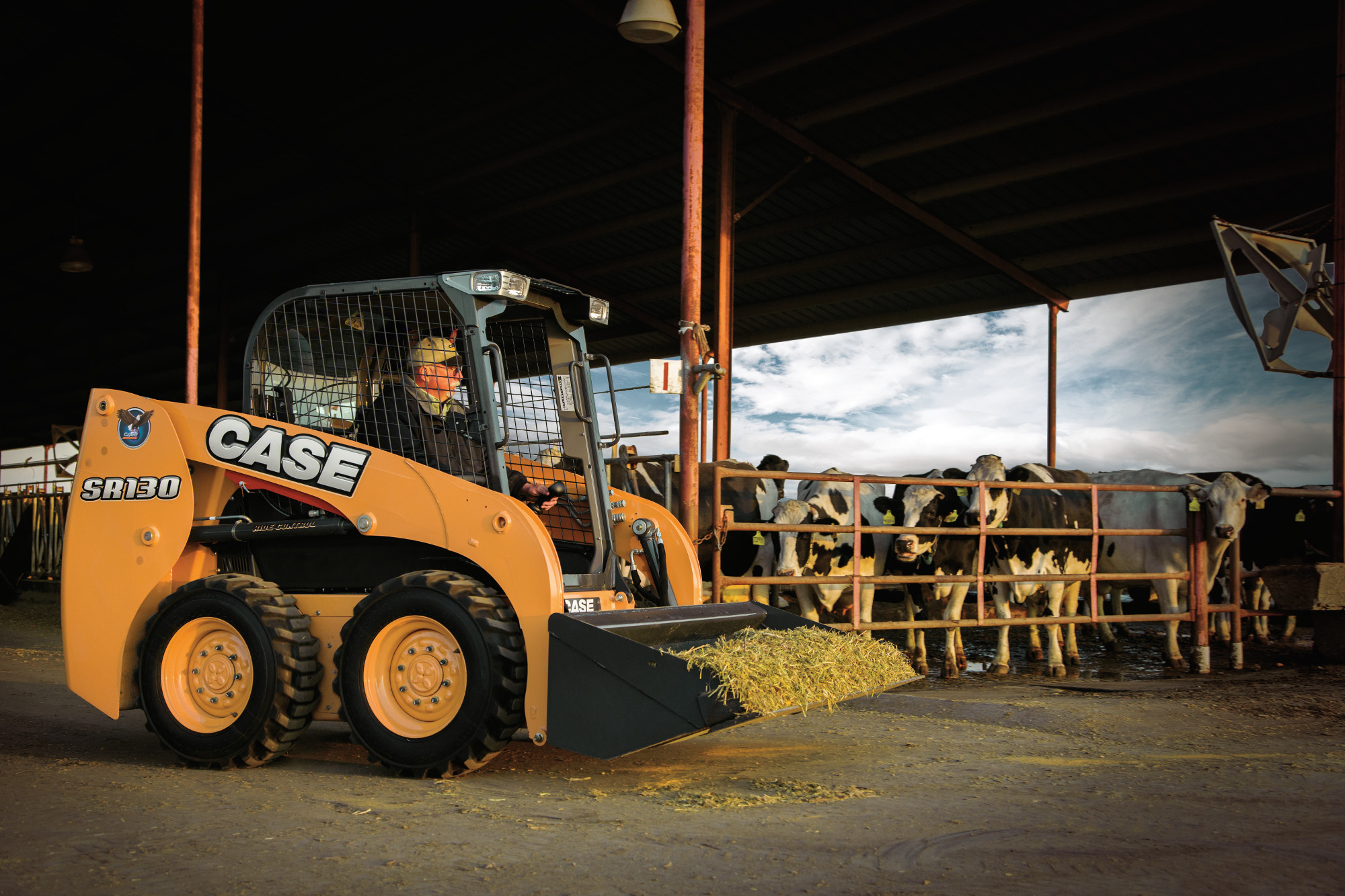 Wheeled Skid Steer