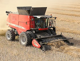 9500 series axial combines