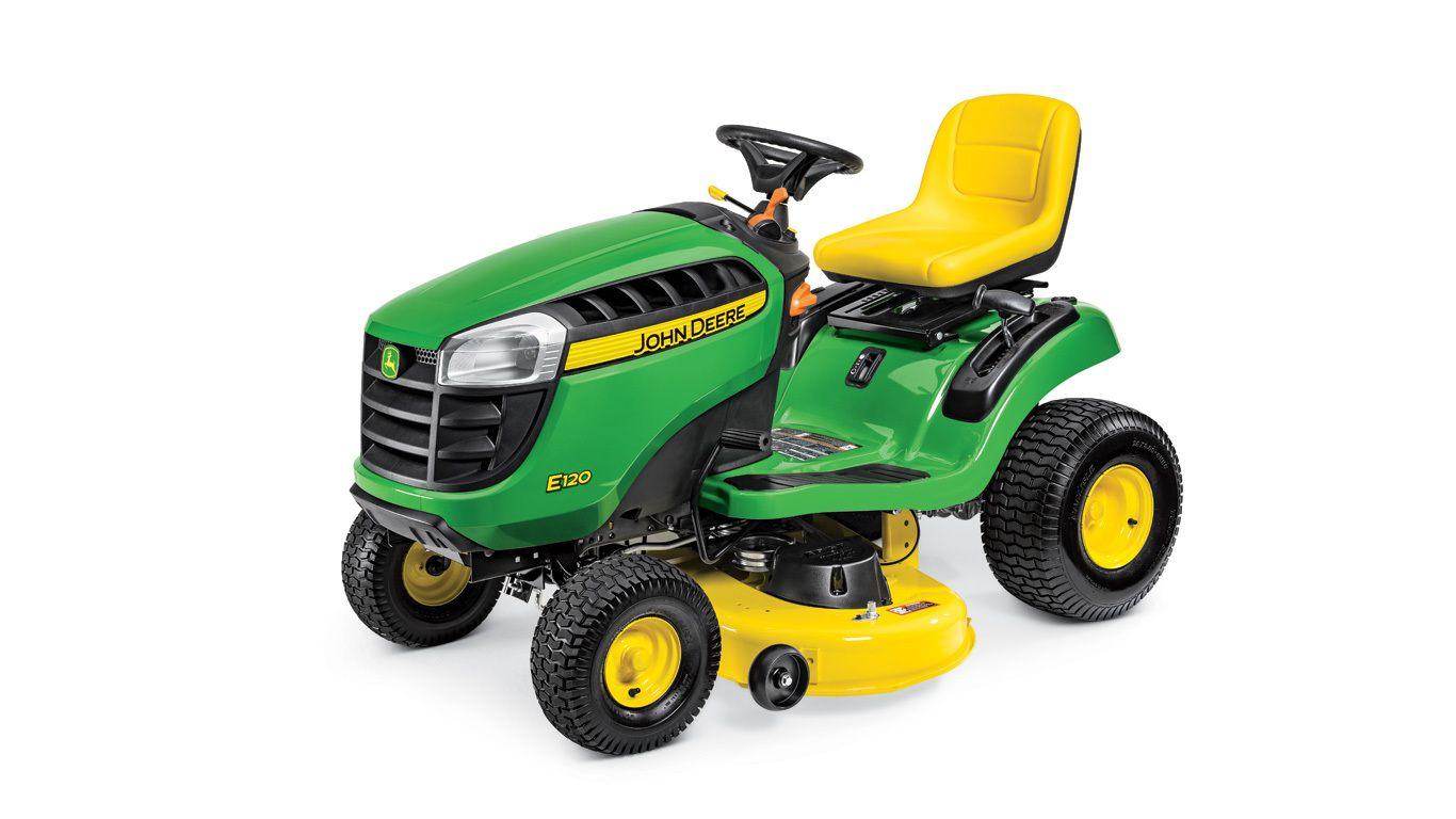 E120 Lawn Tractor