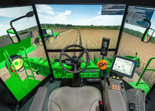 S-Series GoHarvest™ Premium Combine Simulator