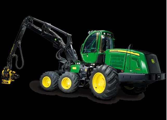 1170E Wheeled Harvester