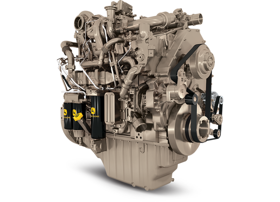 6135HFG09 13.5L Generator Drive Engine