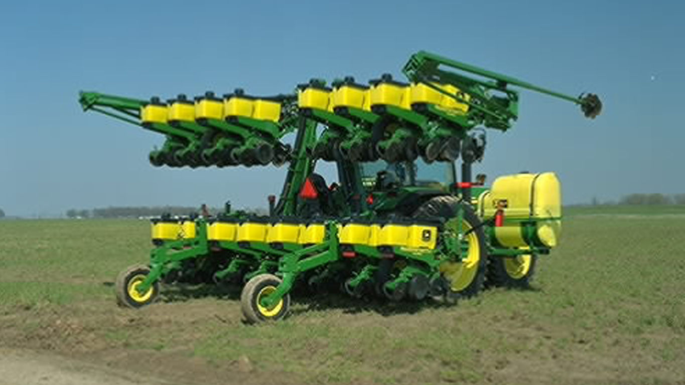 1725 Integral Stack-Fold Planter
