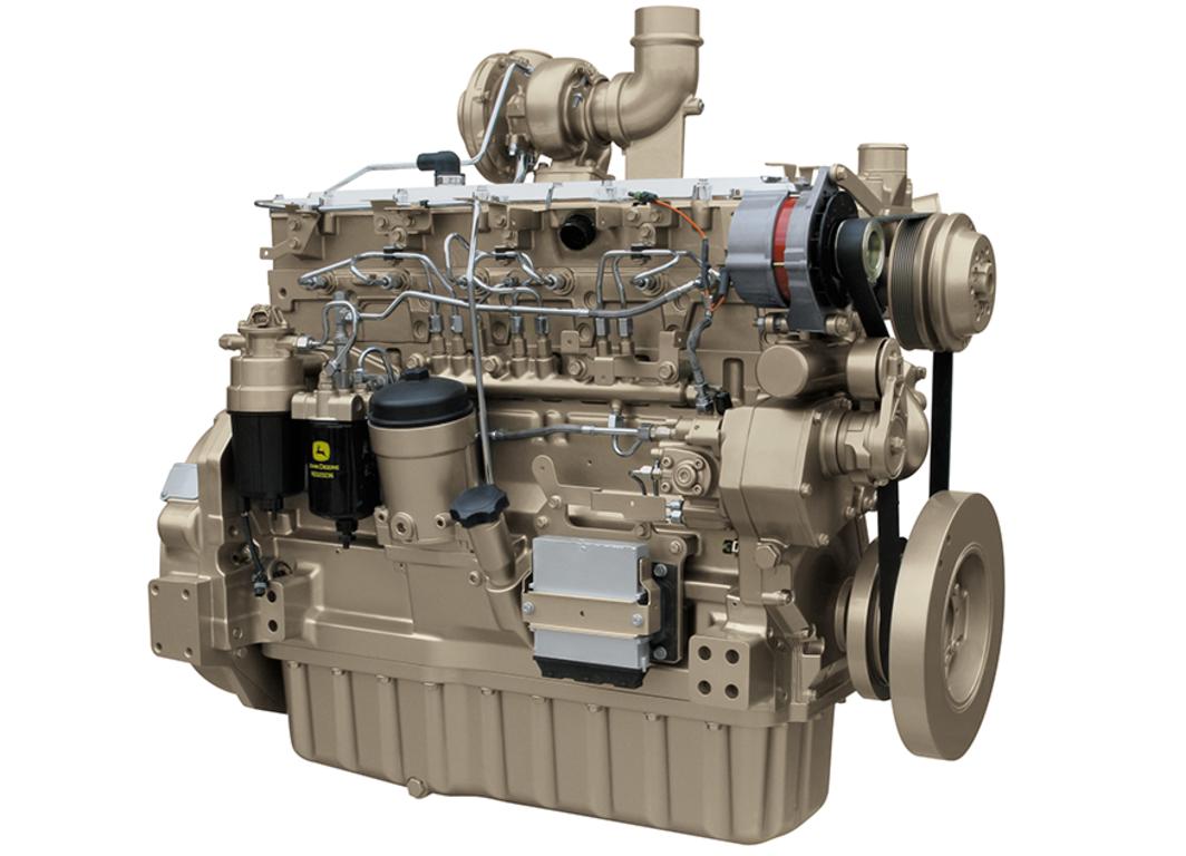 6090HFG84 9.0L Generator Drive Engine