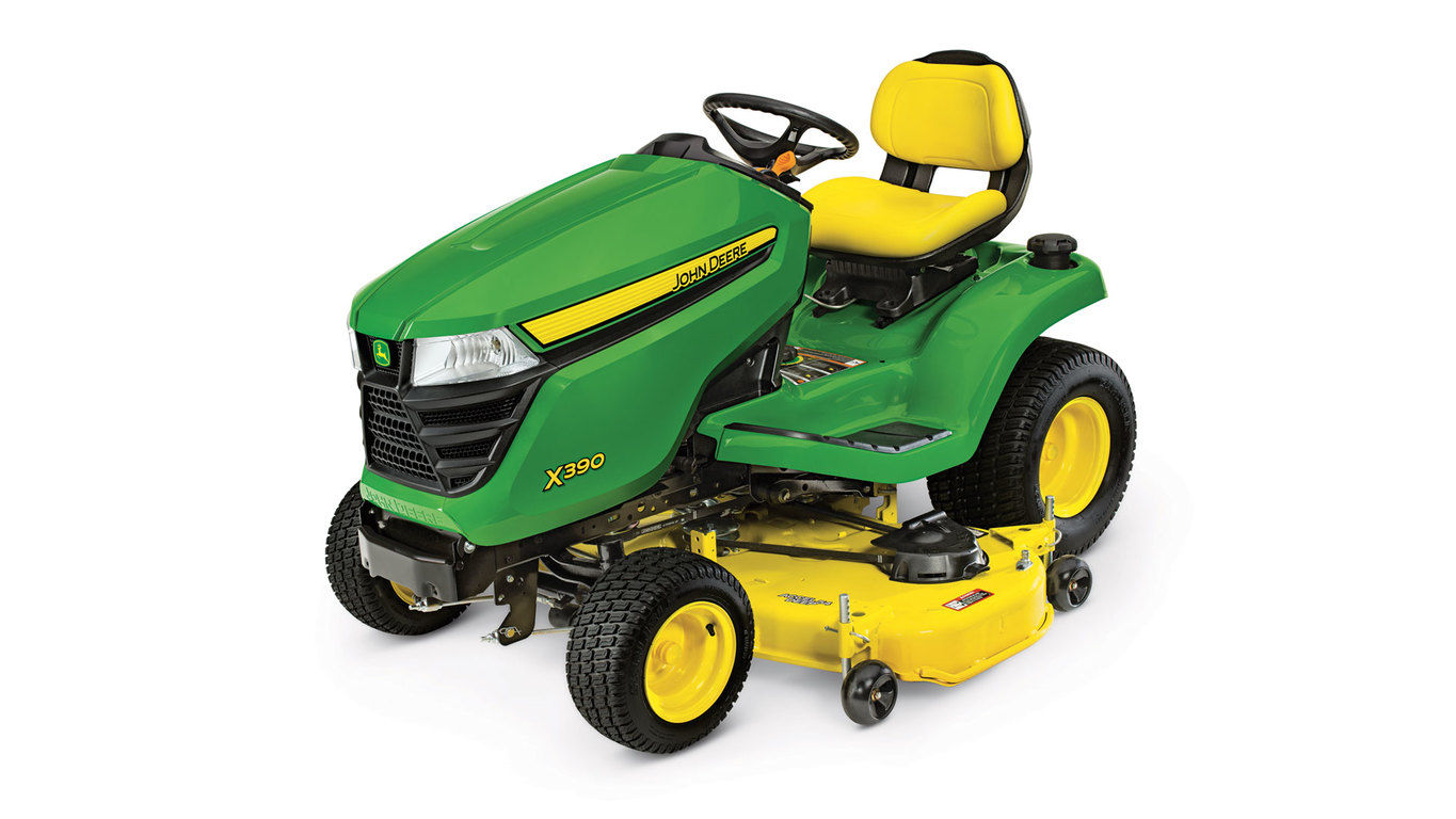 X390 Lawn Tractor with 54-inch Deck